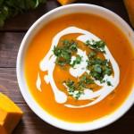 Cea mai bună supă cremă de dovleac cu ghimbir din viața ta